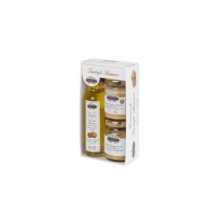 Gourmet di Tartufo Bianco - minipack (n. 1 olp - n. 1 crptb50 - n. 1 imtabi50)