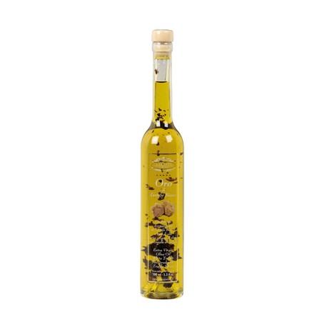 Oro di Tartufo Bianco Cond.arom.Tartufo bianco a base di olio evo con lamelle di tartufo (0,75% TES) 200ml